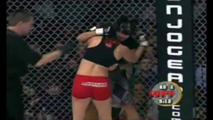 Gina Carano's second Mma fight Part 2