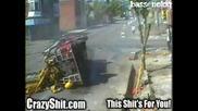 Две пожарни се блъскат