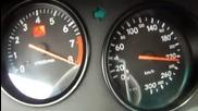Toyota Supra 0-300 km/h