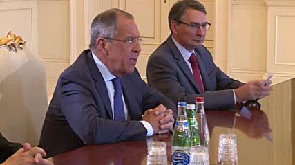 Azerbaijan: Lavrov arrives in Baku to discuss Nagorno-Karabakh resolution