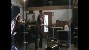 Lucy Lawless - Репетиция
