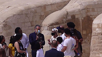 Egypt: Terminally ill American mother fulfils dream of visiting Giza pyramids