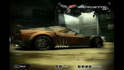 Nfs Most Wanted Corvet C6