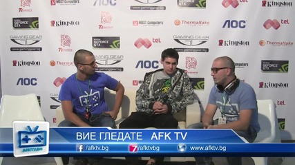 dredge Interview - Starcraft 2 - On! Fest 2013