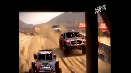 Dirt2 Gameplay Dodge Ram Rally 2