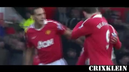 Manchester United Vs Sunderland 1 - 0 Goal Dimitar Berbatov (26.12.2010)