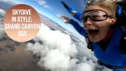 Jump spots made for Instagram: Grand Canyon