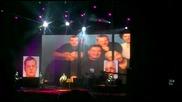 Любэ - Старые друзья (юбилеен концерт в София 09.11.2009)