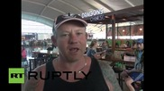 Indonesia: Thousands stranded in Bali as volcano ash shuts down airport