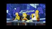 The Simpsons - American Idol
