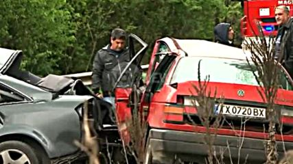 Една жертва при катастрофа между три коли