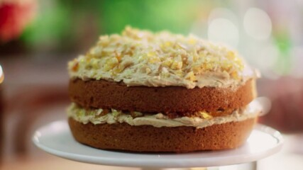 Кейк с кафе и пралин | Домашни рецепти с Мери Бери | 24Kitchen Bulgaria