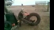 Най - бързия мотор на земята - пародия