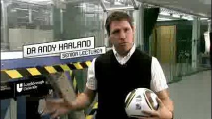 The perfect flight - Jabulani 2010 Fifa World Cup Match Ball