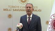 Turkey: Armenia must stop attacks immediately, says Turkish Defence Minister