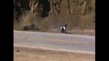 Mulholland Hwy California Suzuki Gsxr 1000