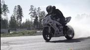 Супер дрифтинг шоу с мотор