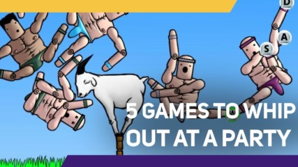 5 Games to Whip out at a Party