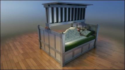 Спалня, която ще ви защити от земетресение