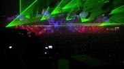 светлинно шоу на Qlimax 2009