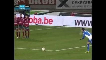 """""""Генк"""" спечели с 1:0 при гостуването на """"Зулте"""" (Варегем)"""