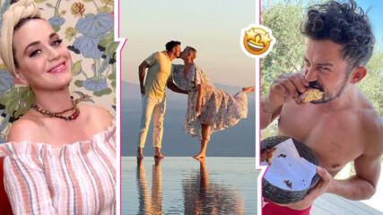 Романтика безкрай: Кейти Пери и Орландо Блум на лятна ваканция в Турция
