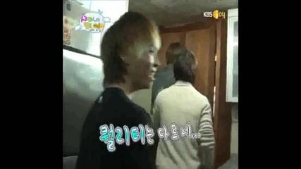 Cute Tae min part#2 - imitates onew donald duck