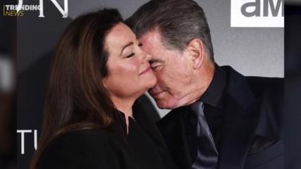 Пиърс Броснън и Кийли Шей Смит празнуват 25 години заедно