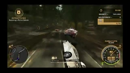 Need for Speed Most Wanted Barrel Rolling