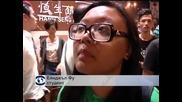 Отново сблъсъци между протестиращи и полиция в Хонконг
