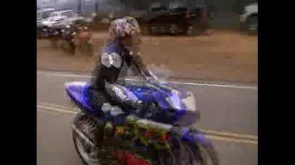 Mulholland Hwy California Suzuki Gsxr 600 & Kawasaki Zx6r