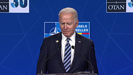 Belgium: Biden calls Russian president 'worthy adversary', laughs when asked about Putin 'killer' comment