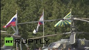 Russia: Aerobatic teams dazzle fighter-jet enthusiasts at ARMY-2015