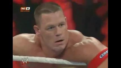 John Cena & Sin Cara Vs The Miz & Alex Riley