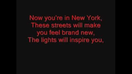 Jz and Alicia Keys - New York Lyrics