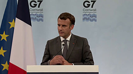 UK: France to double COVID vax sharing target to 60m - Macron after G7