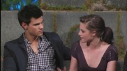 Kristen Stewart. Robert Pattinson & Taylor Lautner on Twilight Special Part 3