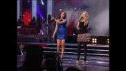 Aleksandra Bursać i Nadica Ademov - Izdajica (Zvezde Granda 2011_2012 - Emisija 25 - 24.03.2012)
