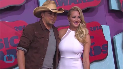 Jason Aldean and Brittany Kerr Talk Newlywed Life and Honeymoon Plans