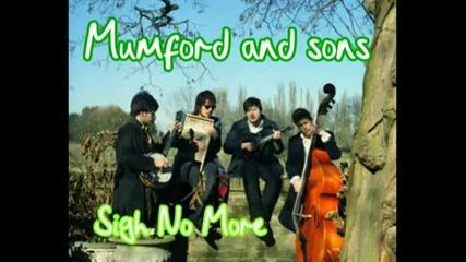 Mumford and Sons - Sigh No More