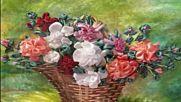 Изкуството Ръкоделие с цветни ленти