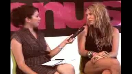 Venuszine interview with Ke$ha at Lollapallooza 2009