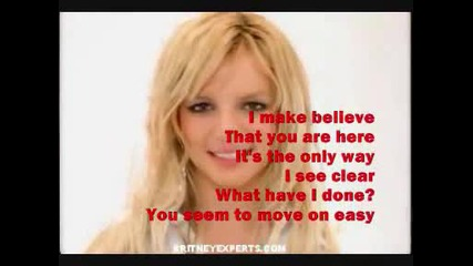 Britney Spears - Everytime [karaoke]