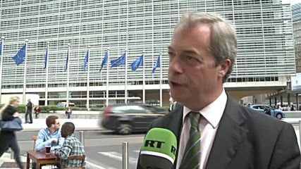 Belgium: Farage calls on UK to immediately trigger Article 50