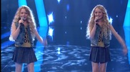 Две сладурани пеят на английски - Гласът на Турция