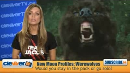 New Moon Profiles Werewolves Shapeshifters