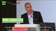 "Greece: Varoufakis explains his secret plan for ""parallel system"" of banking"