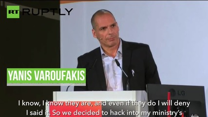 Greece: Varoufakis explains his secret plan for