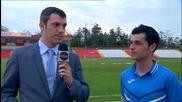 Мигел Бедоя е Играч на мача Хасково - Левски, 28-и кръг