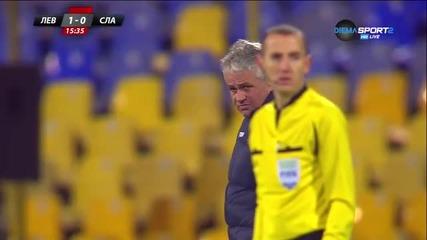 Левски - Славия - Първо полувреме (29.11.2015)